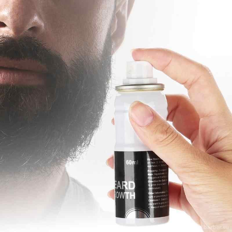 Какого эффекта помогают достичь спреи для роста бороды?