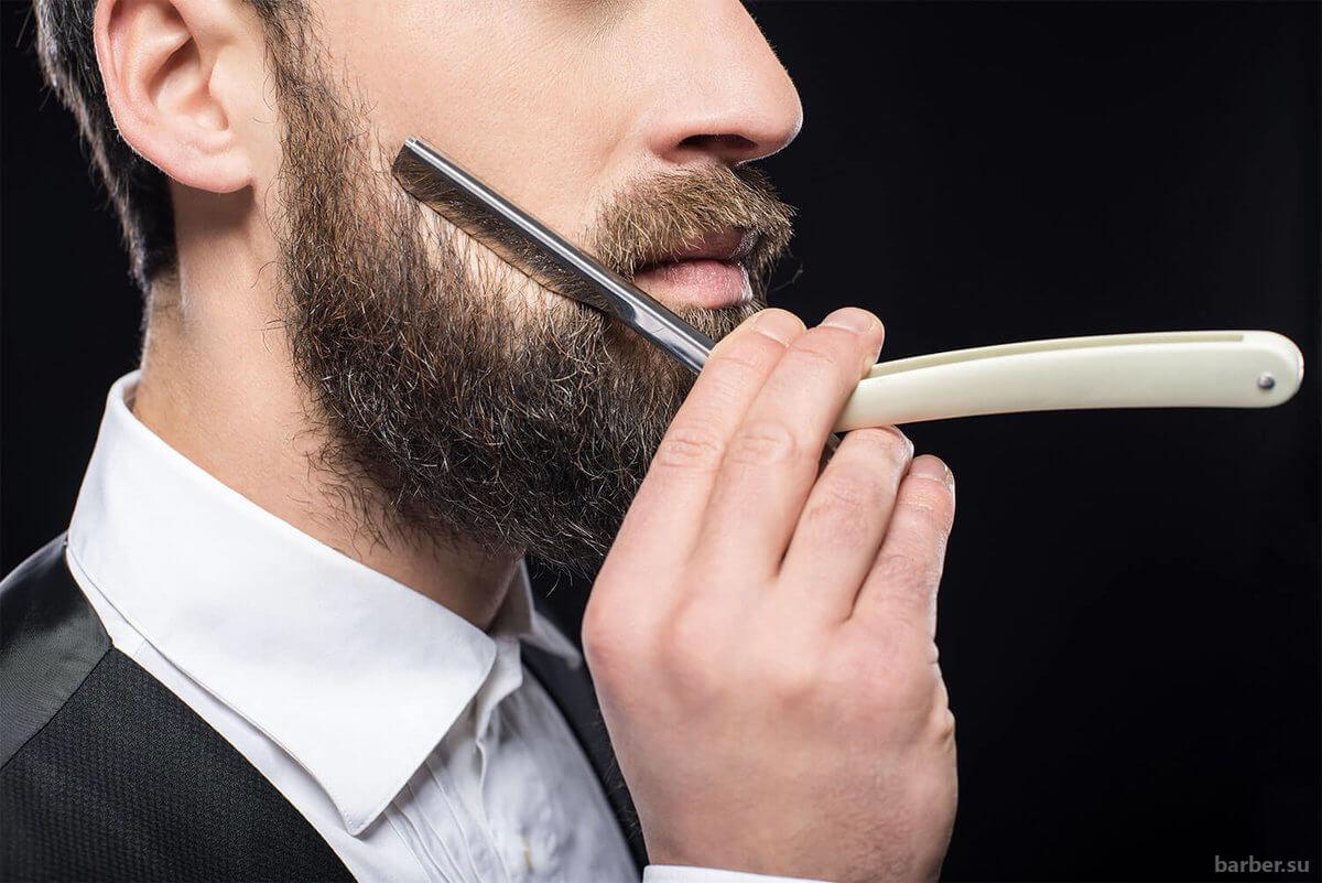 Как выбрать опасную бритву для стрижки бороды?